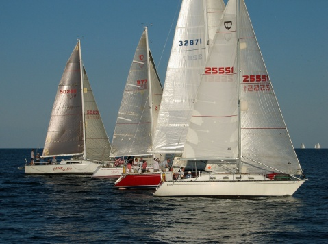 Spinnaker section start