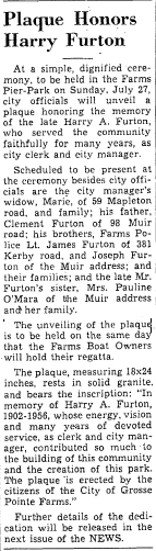 GPN 1958-07-17 - Furton Plaque Dedication